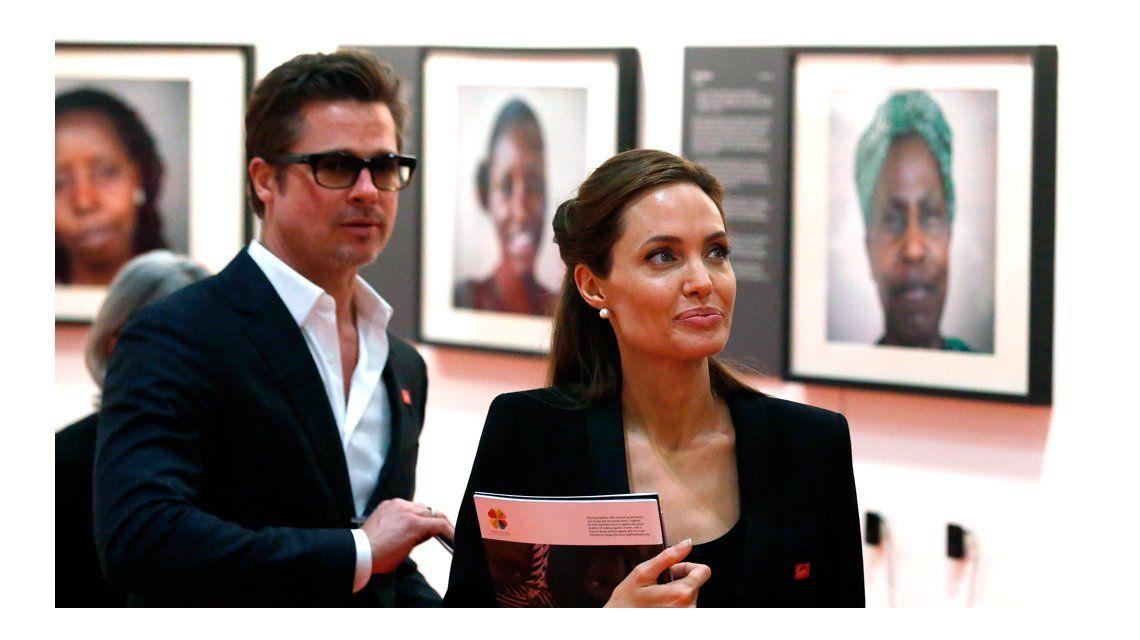 Angelina Jolie y Brad Pitt acordaron