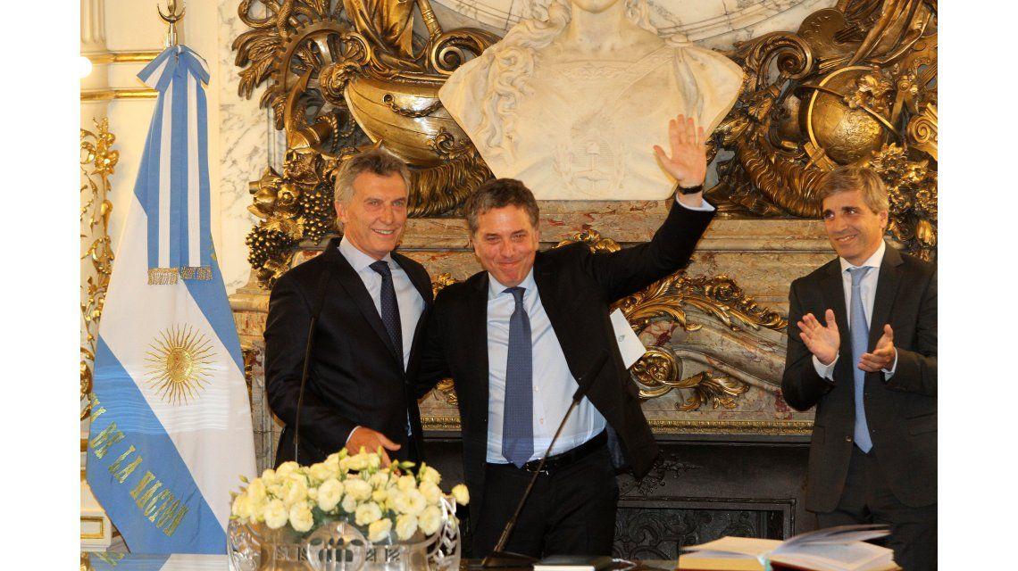 Dujovne asumió al frente del Ministerio de Hacienda