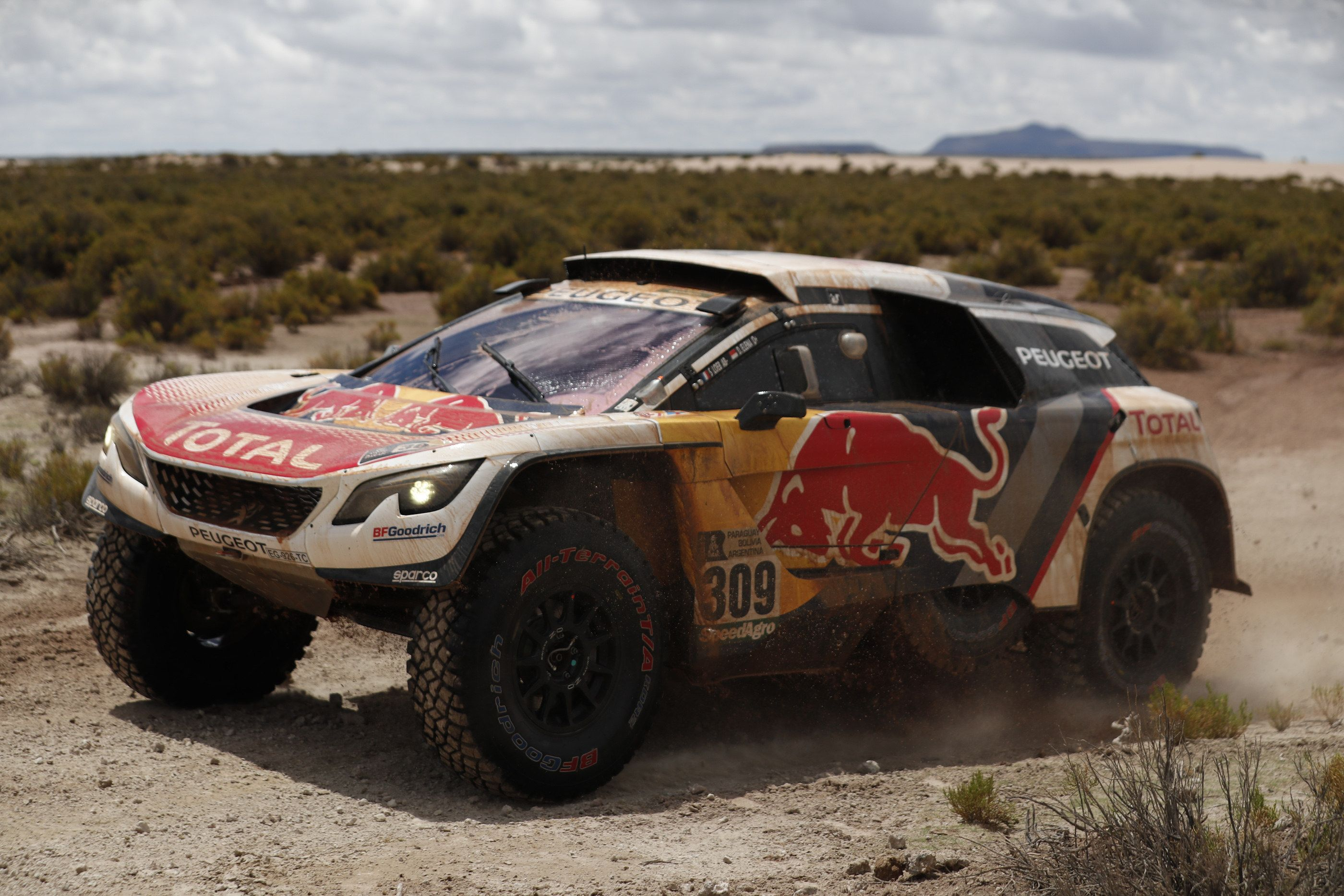Dakar 2017: Peterhansel ganó la séptima etapa de autos y sigue como líder