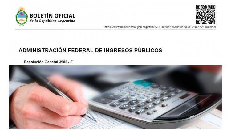 El Boletín Oficial publicó los anunciados cambios en el monotributo