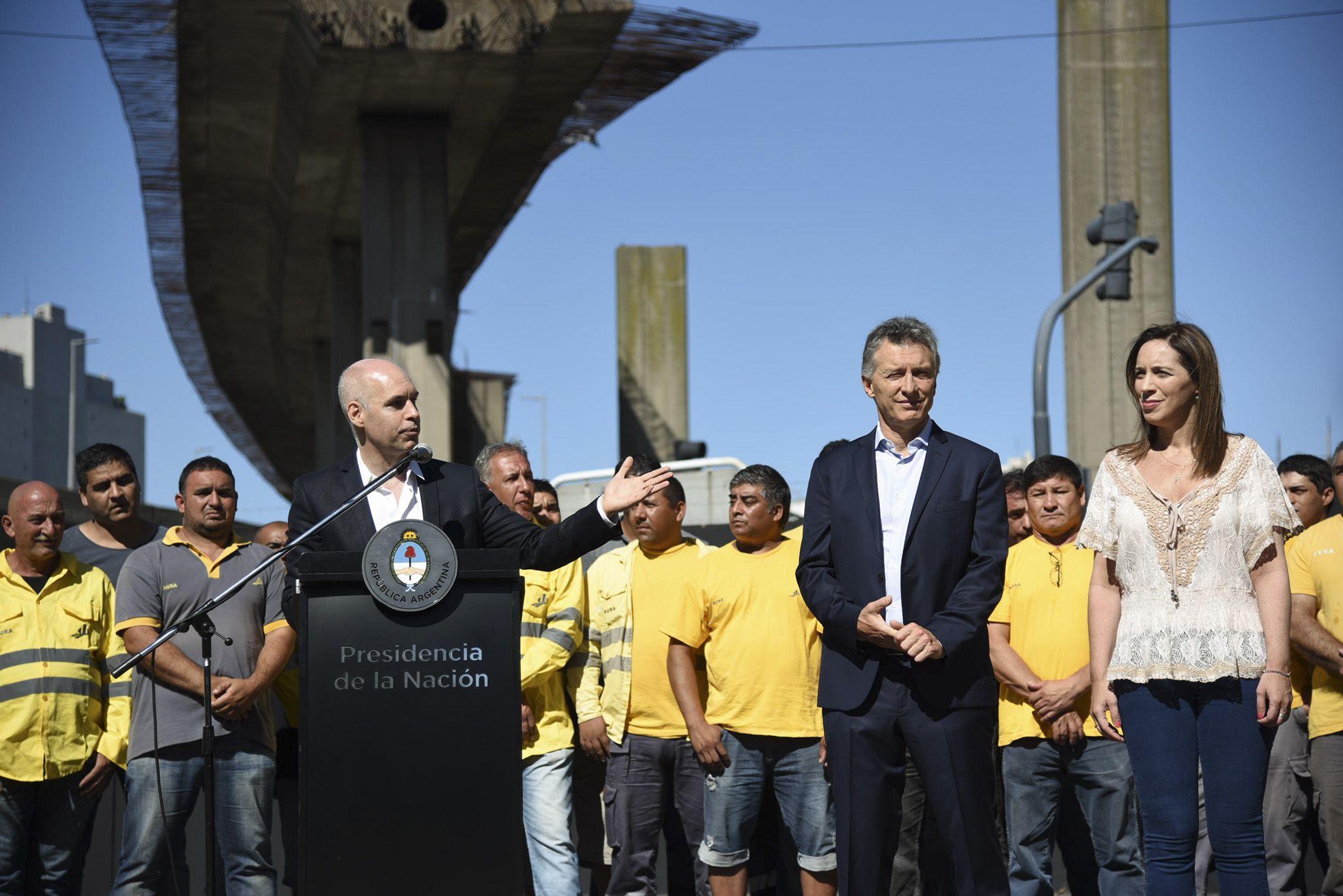Inauguración de las obras del Paseo del Bajo<br>