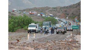 Alerta por alud de barro en Jujuy