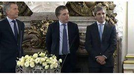 Dujovne y Caputo asumieron al frente de sus cargos
