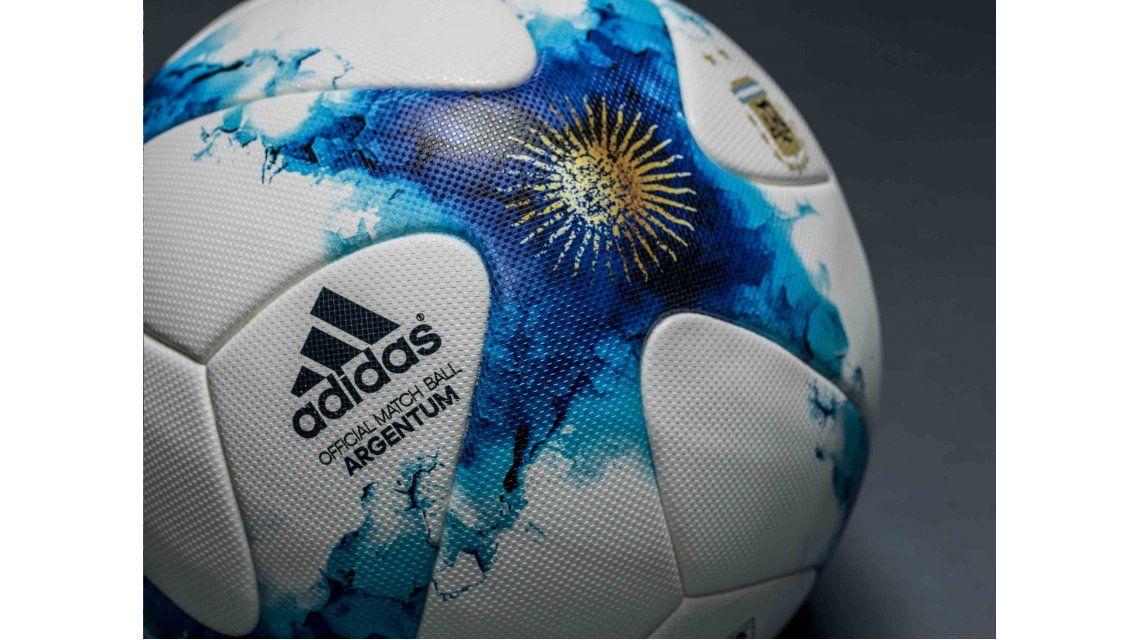 Así será la nueva pelota del fútbol argentino