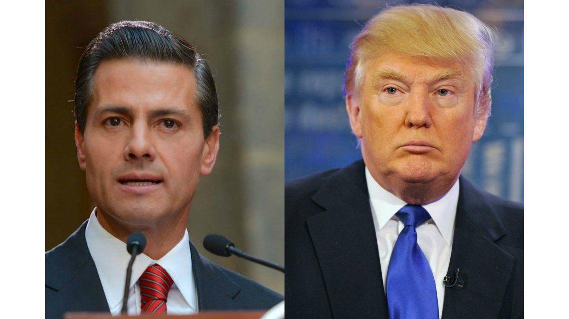 Peña Nieto le respondió a Trump