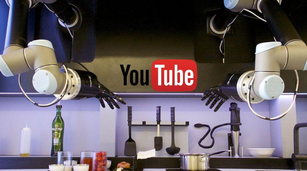 Cocinar con YouTube