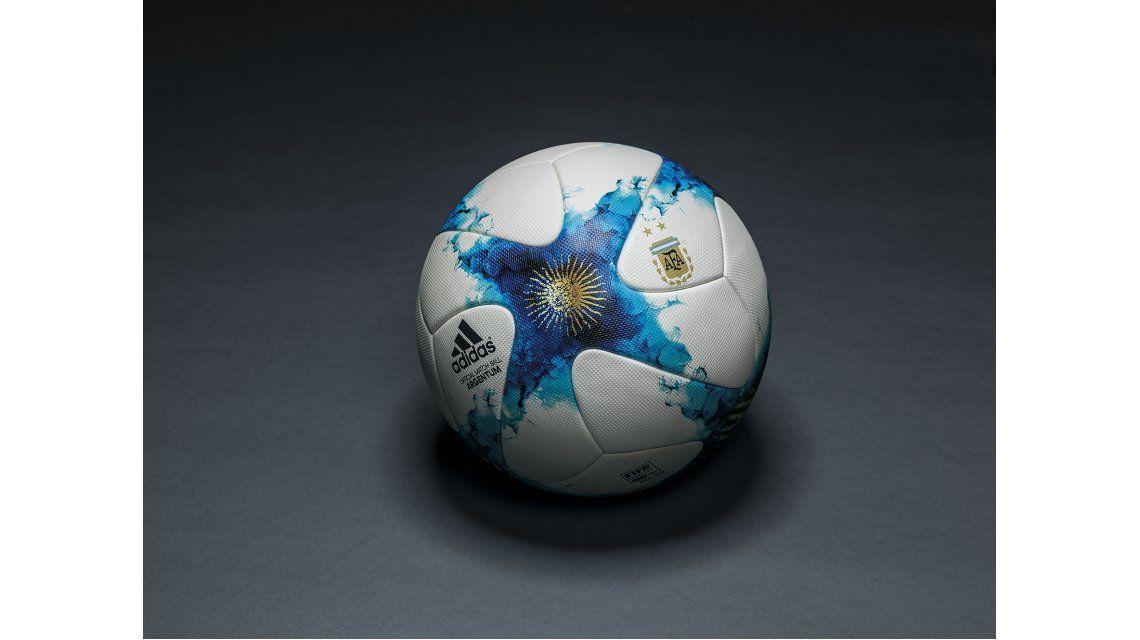 Así es la nueva pelota del fútbol argentino