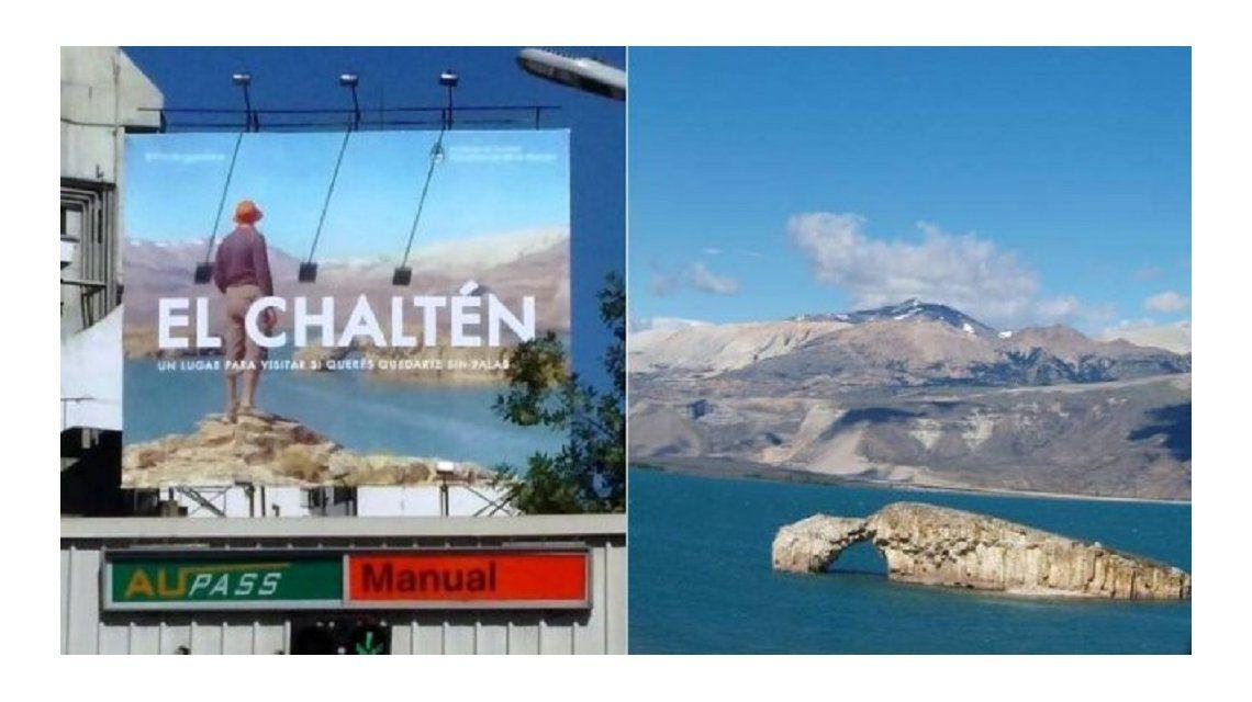 Lago Posadas se encuentra a 600 kilómetros de El Chaltén