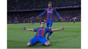Suárez llegó a su gol número 100 con la camiseta del Barcelona