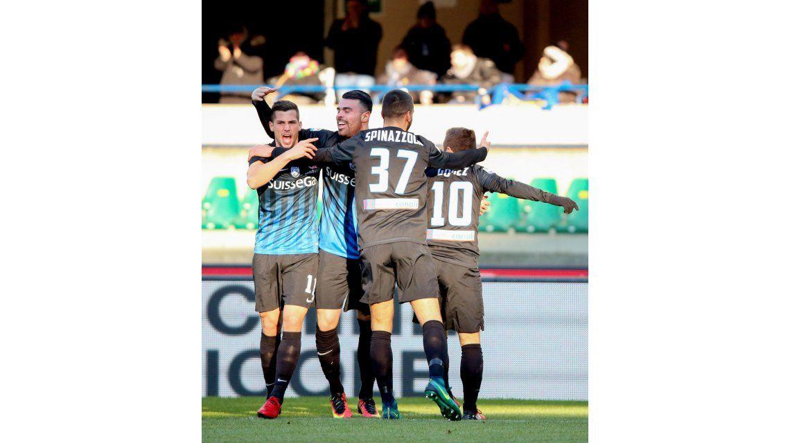 El argentino es ídolo en el club de Bérgamo