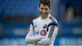 Ignacio Piatti con la camiseta del Montreal Impact de Canadá