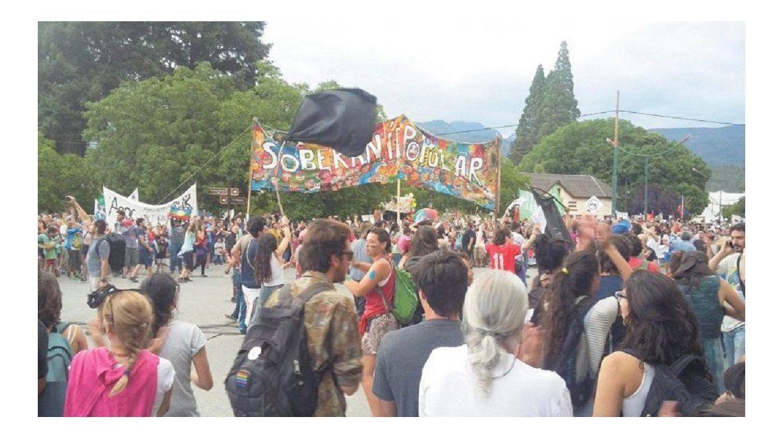 Marcha contra el Proyecto Laderas