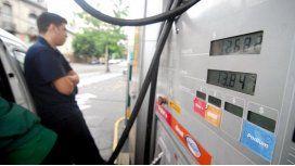 El aumento de nafta quedó para el martes o miércoles