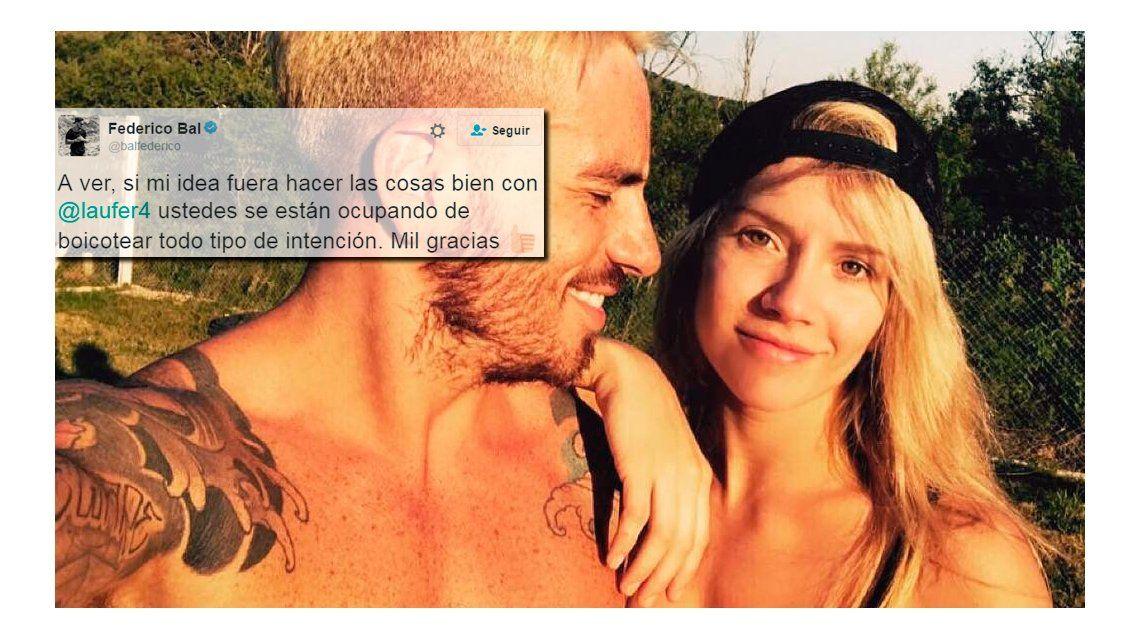 Fede Bal confesó su amor por Laurita