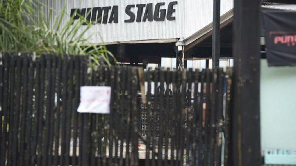 El complejo Punta Stage