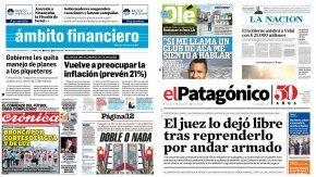 Tapas de diarios del 4 de enero de 2017