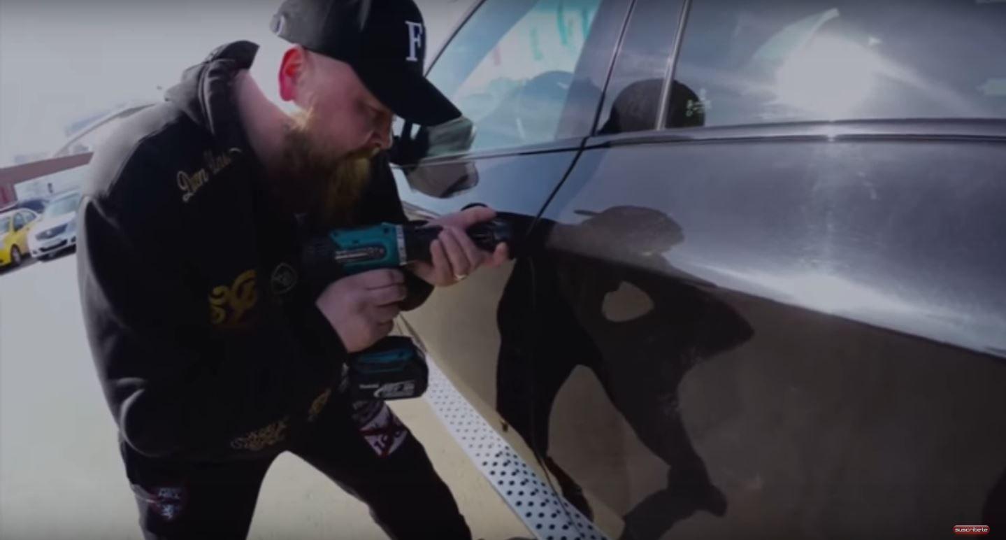 Mirá cómo roban un auto en 1 minuto