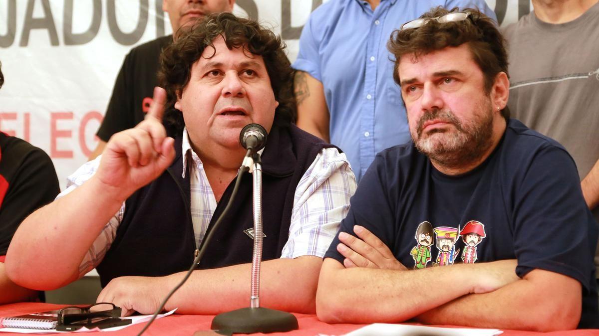 Néstor Segovia y Roberto Pianelli fueron denunciados ante la justicia<br>