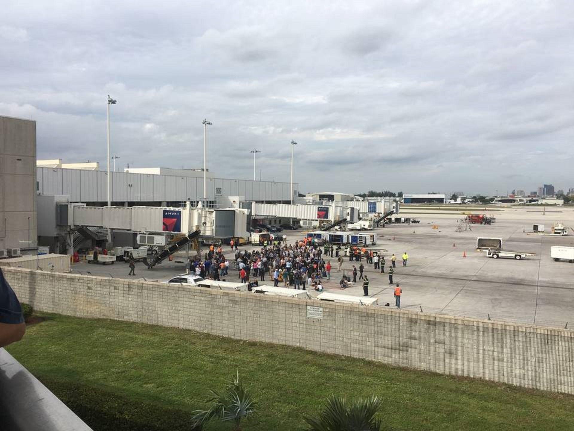 Tiroteo en aeropuerto de Florida
