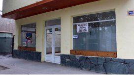 Un local en Junín que cerró recientemente y está en alquiler