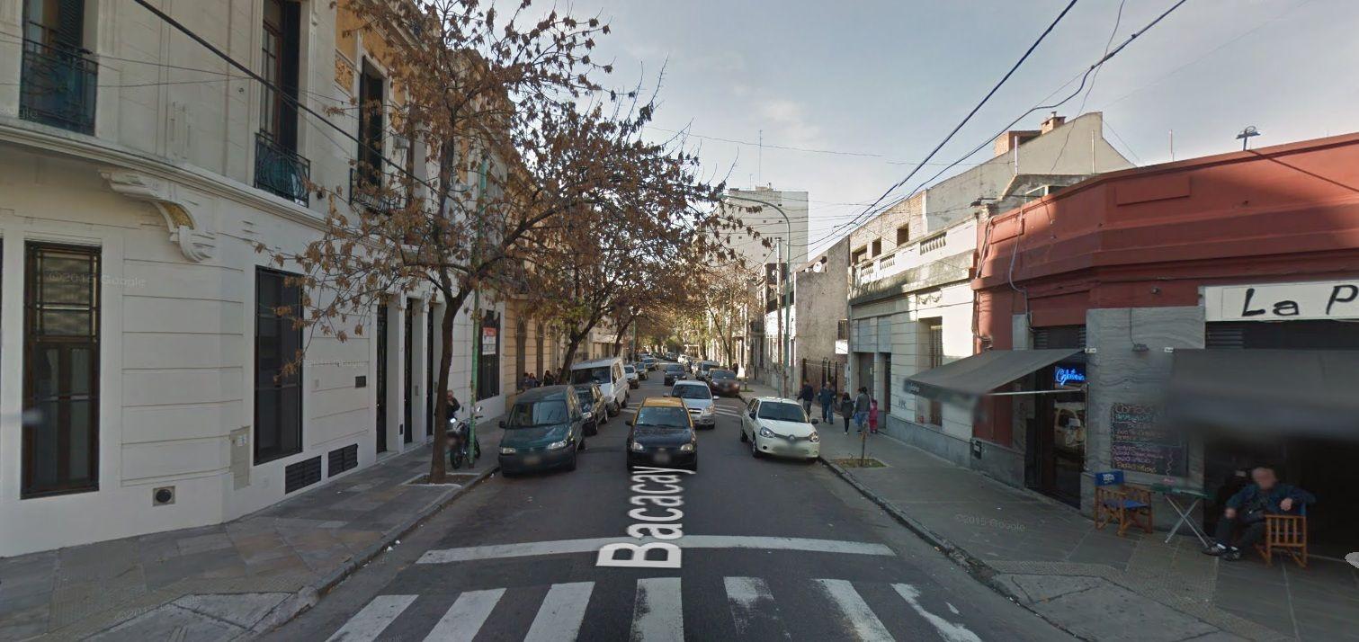 El asesinato fue en la esquina de Bacacay y Fray Cayetano Rodríguez
