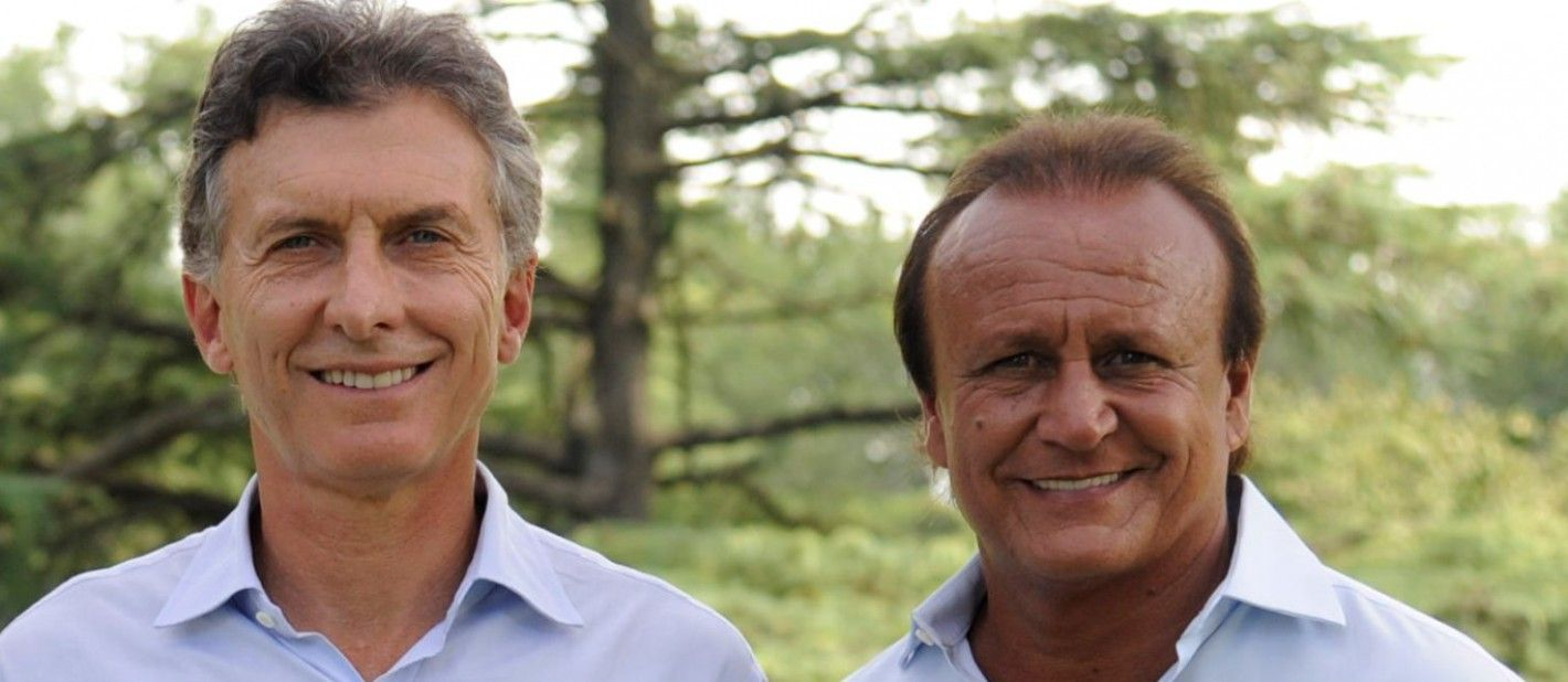 Mauricio Macri y Miguel Del Sel
