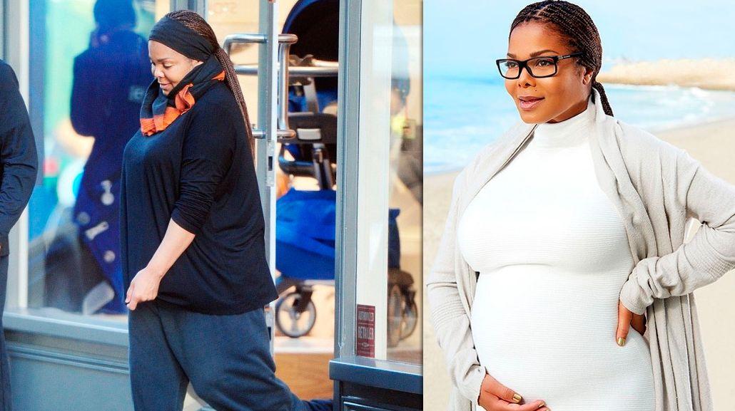 Janet Jackson fue mamá por primera vez a sus 50 años