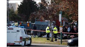 Un ataque con un camión deja cuatro muertos en Jersualén