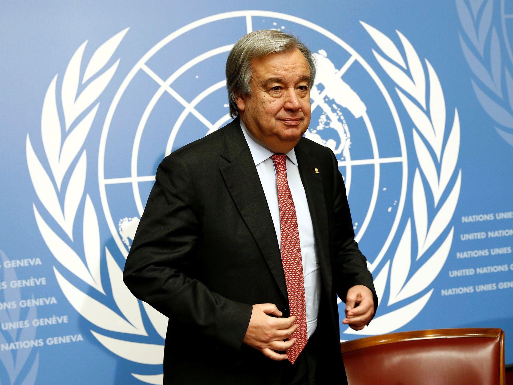 António Guterres estará al frente de la ONU por los próximos cinco años