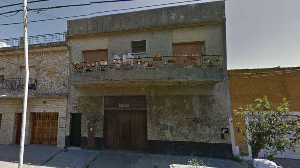 Por esta vivienda habrían discutido el gendarme con el joven de 18 años