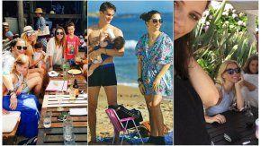 Nicole y Figueiras, de vacaciones juntas