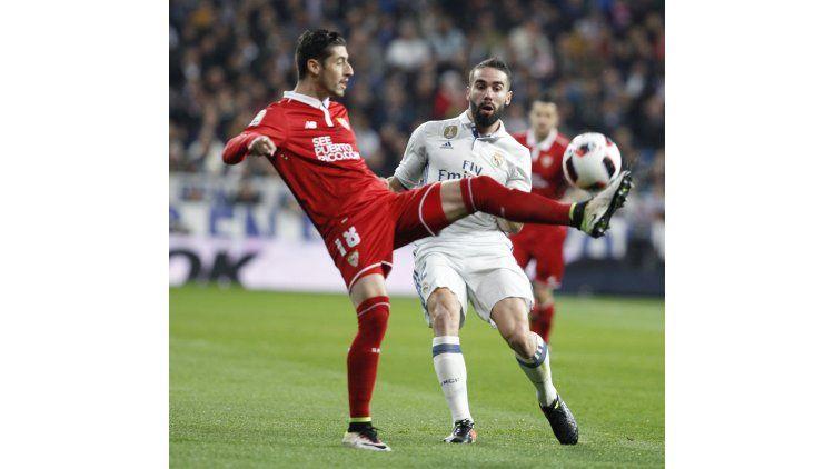 Real Madrid enfrenta a Sevilla por la Copa del Rey