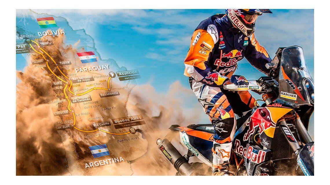 El Dakar 2017 comienza este lunes