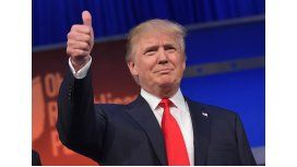 Trump saludó a sus enemigos por Año Nuevo