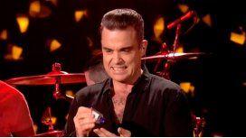 Robbie Williams, asqueroso