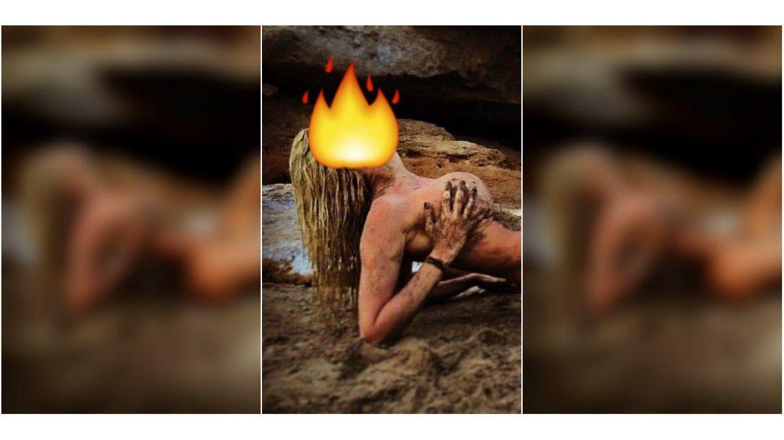 Vicky Xipolitakis despide el año con una foto desnuda