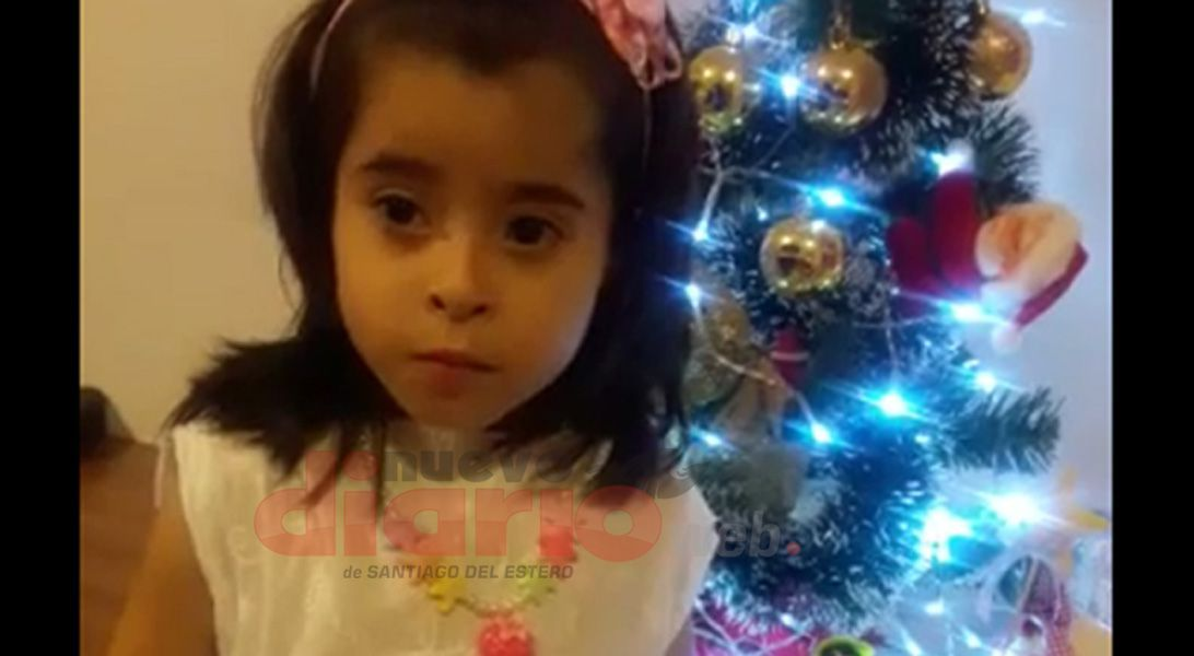 Pía Martina Andrada Acosta la nena trasplantada