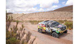 El auto del equipo Renault Duster