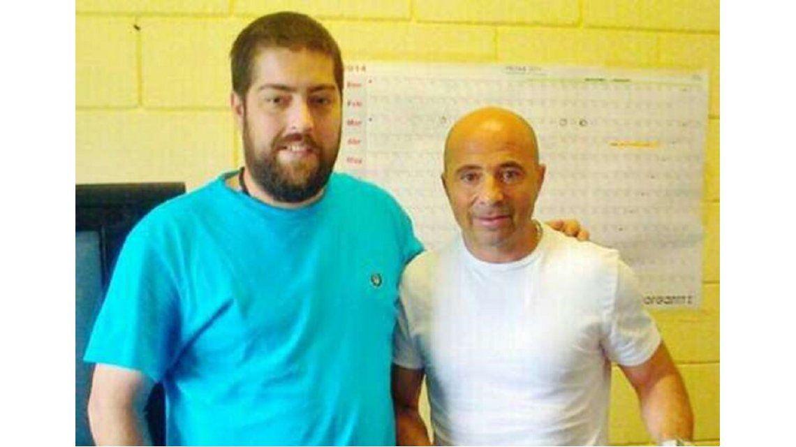 Samapoli visitó a Fontanet en la cárcel - Crédito: goal.com