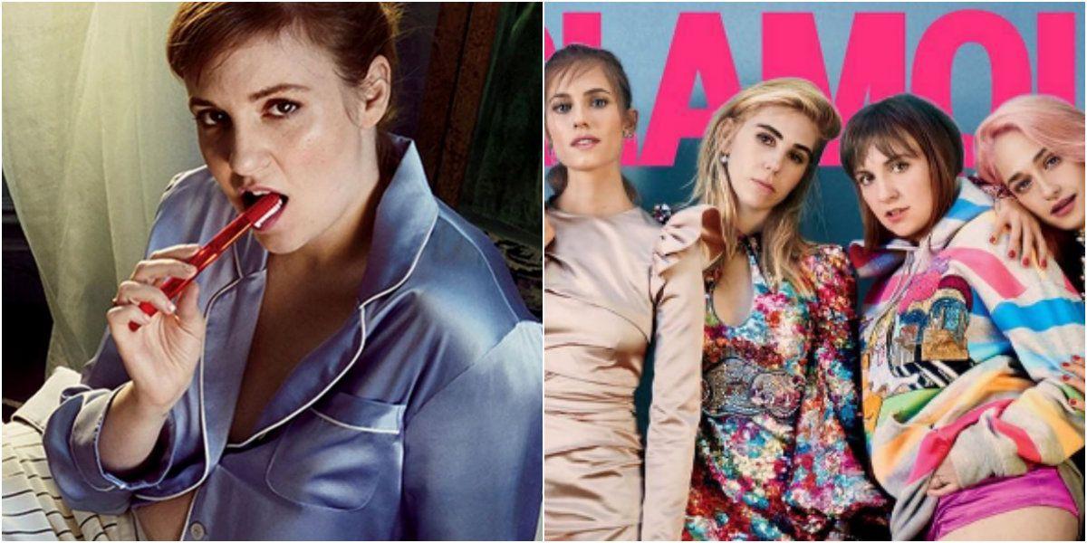 Lena Dunham es actriz de Girls