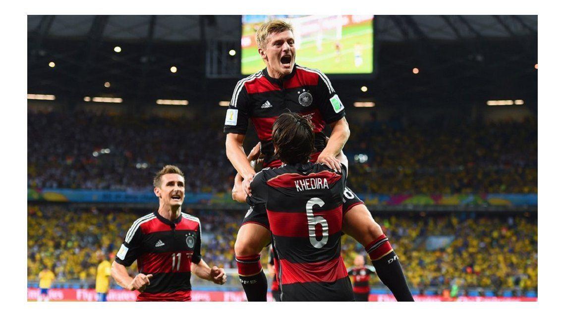 La cargada de Toni Kroos a Brasil