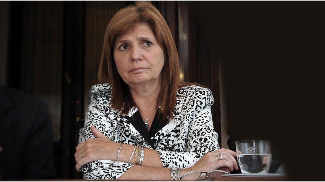 La ministra de Seguridad de la Nación aseguró que en 2016 hubo sólo 16 muertes en Flores