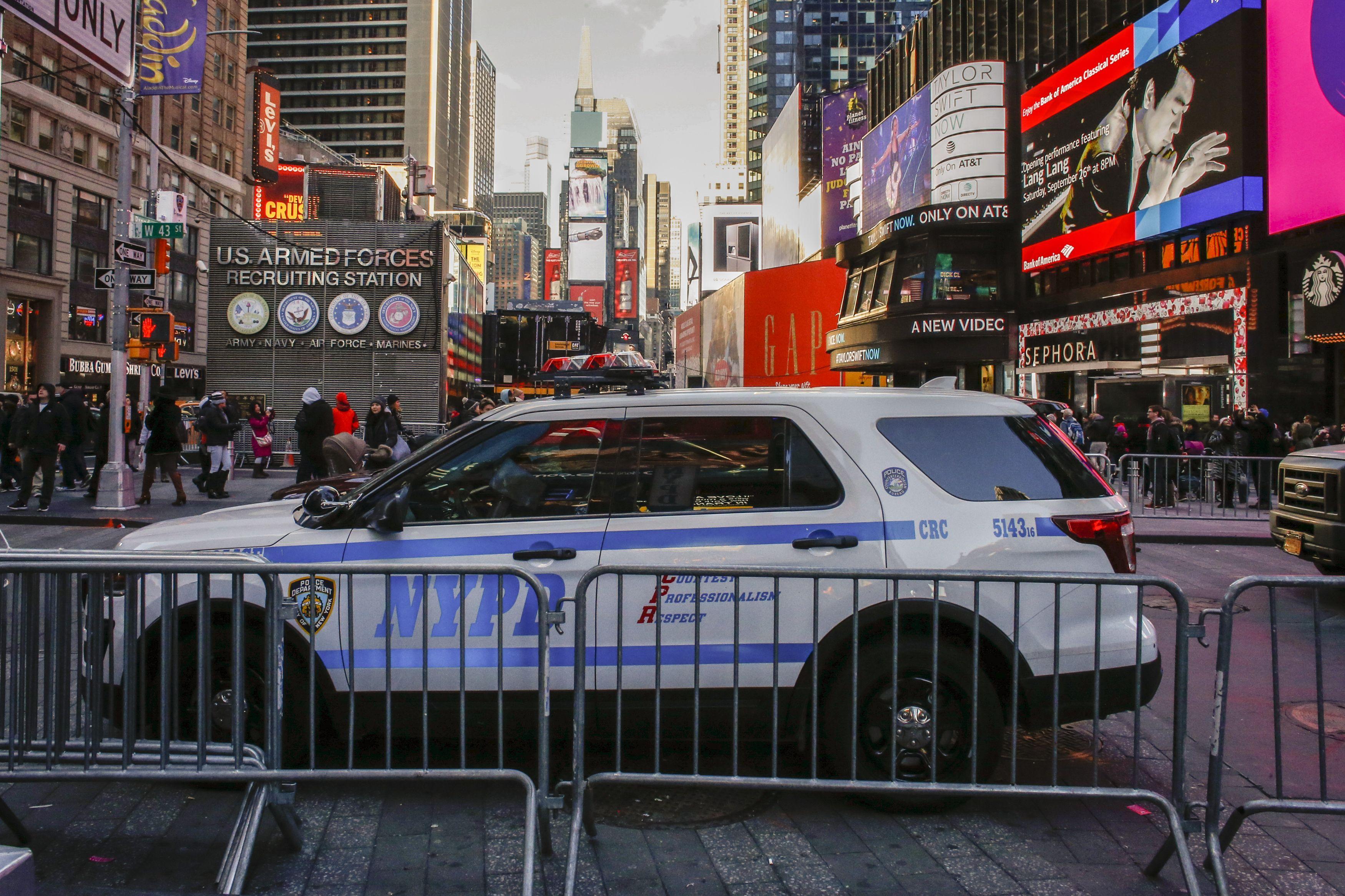 Así se prepara el año nuevo en Nueva York