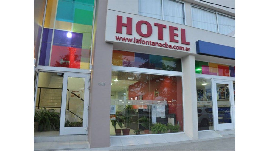 El hotel está ubicado en Villa Dolores