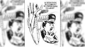 Esta es la tapa de la revista Charlie Hebdo