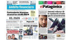 Tapas de diarios del miércoles 28 de diciembre de 2016