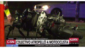 Accidente en Paseo Colón y Belgrano