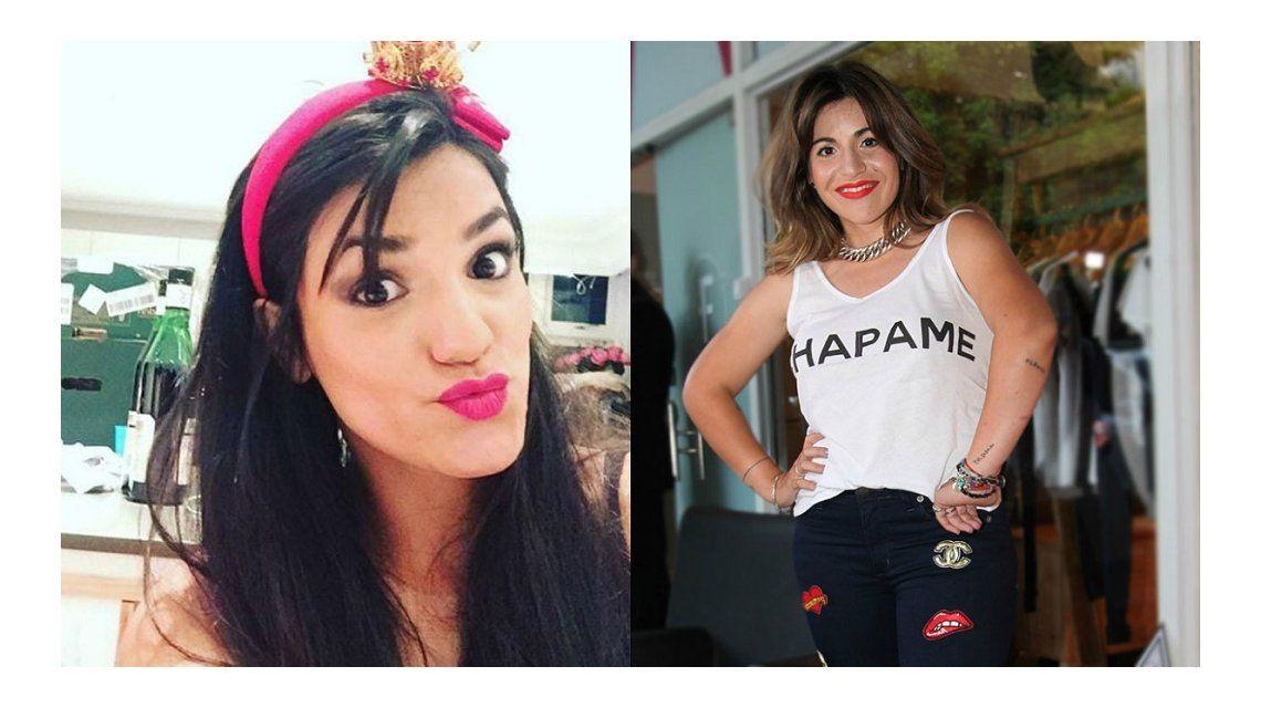 Mayra del Castillo y Gianinna Maradona