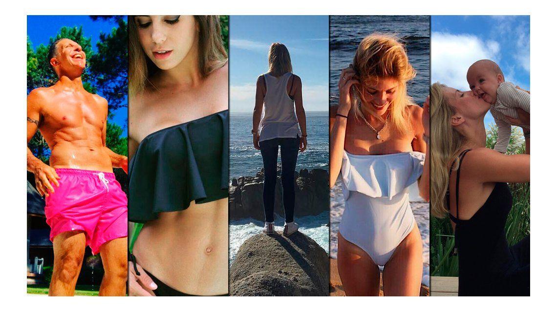 Las fotos de las vacaciones de los famosos