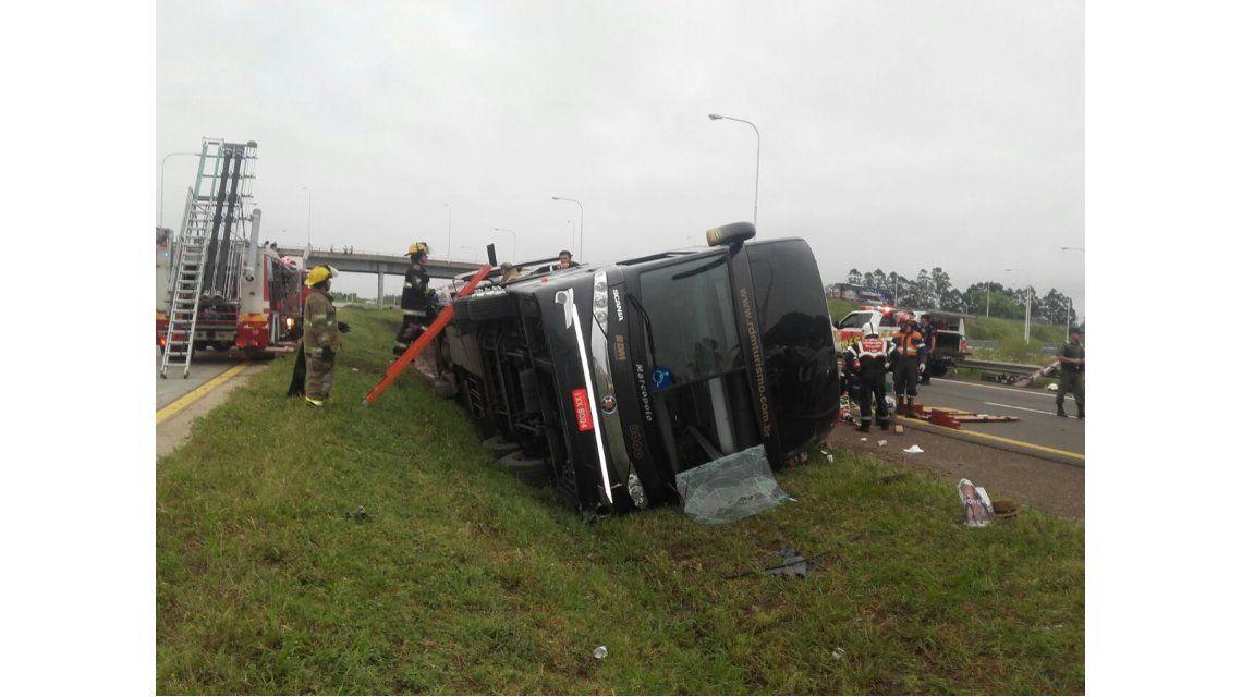 El accidente ocurrió en la localidad de San José